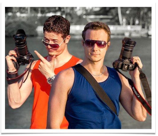 Rodrigo e Ricardo Polesso Curso Cara da Foto