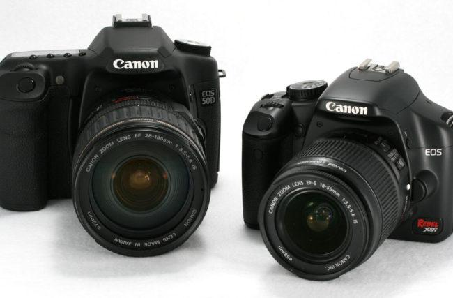 Diferenças de Uma Câmera Profissional e Semi Profissional (Digital)
